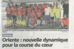 Article Corse-Matin 7 août 2013