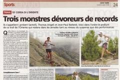 Article Corse-Matin 4 août 2014