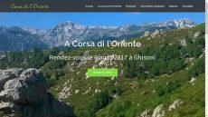 A Corsa di l'Oriente : nouveau site