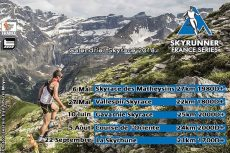 Calendrier 2018 du Skyrunner National Series